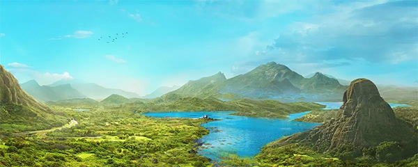 How to Create a Scenic Landscape Photo Manipulation with Adobe Photoshop