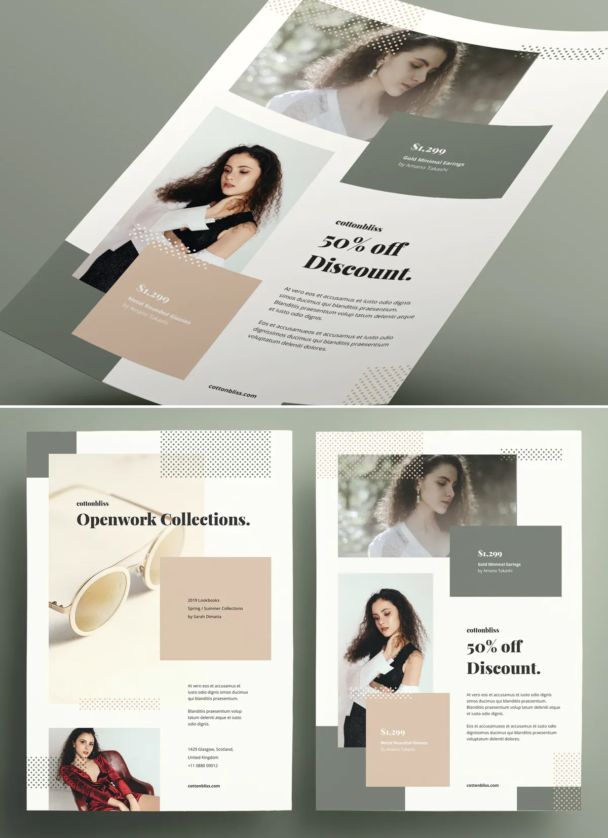 Perfcet Fashion Flyer Template