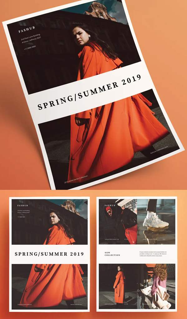 Awesome Fashion Flyer Template