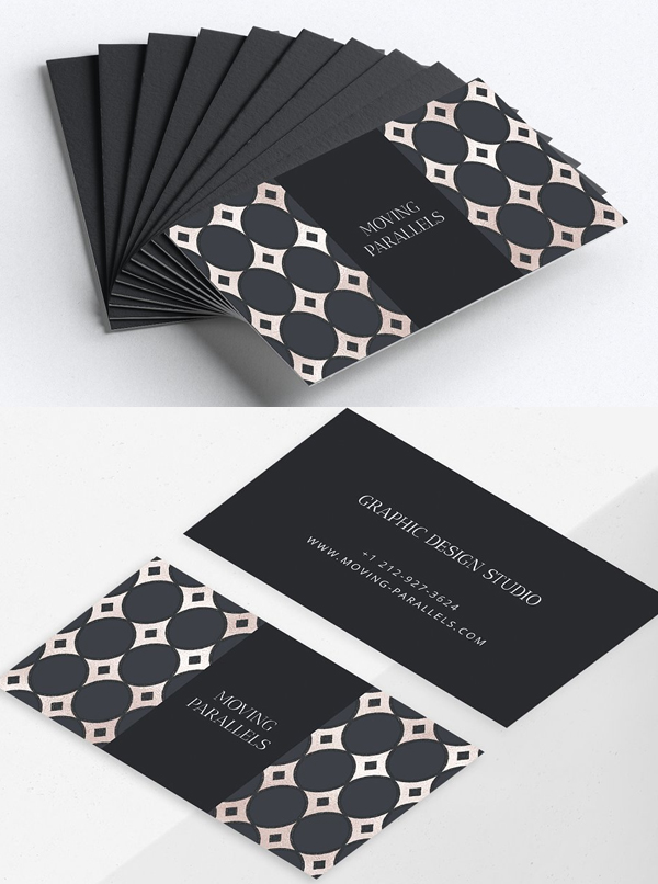 Geometric Elegant Business Card Template