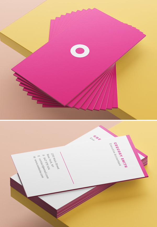 Mod Business Card Template