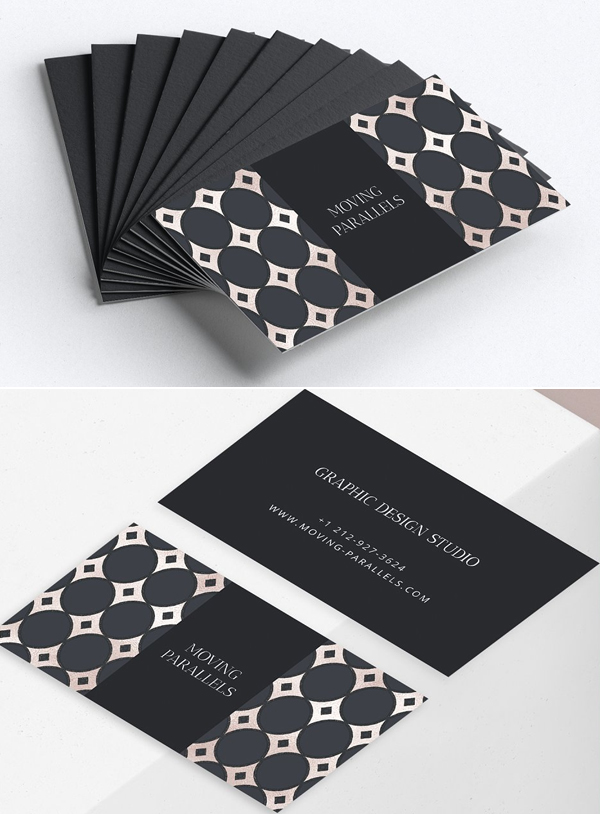 Geometric Elegant Business Card