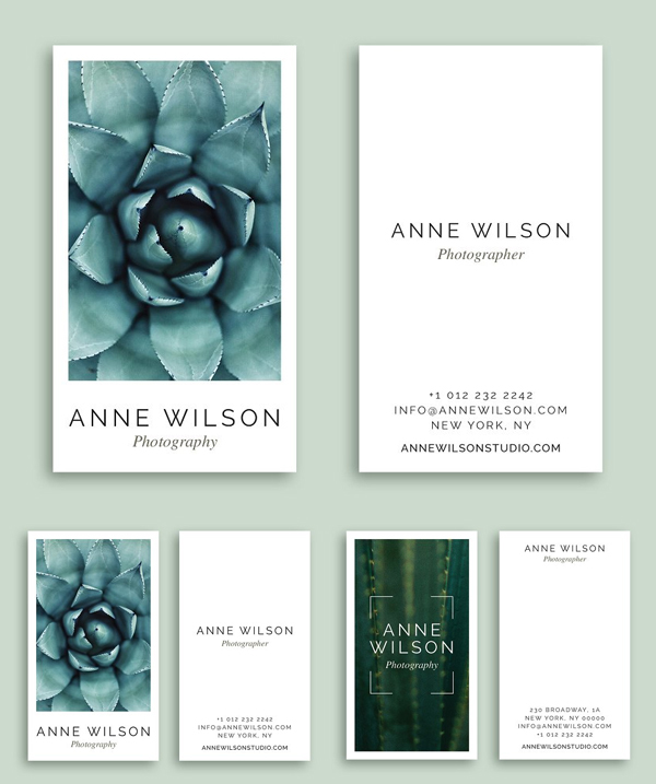 Botanical Business Cards
