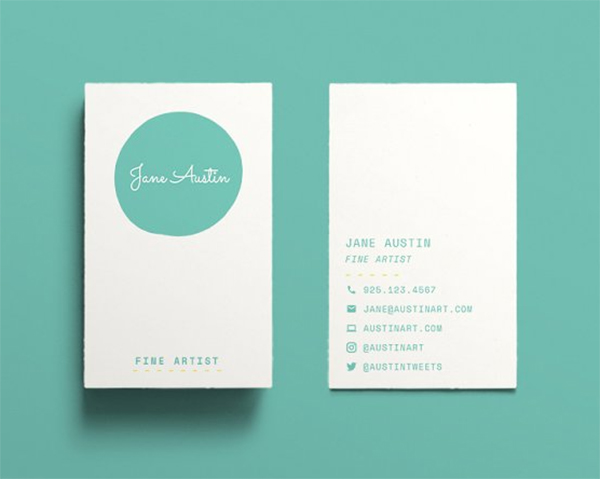 Austin Business Card Design