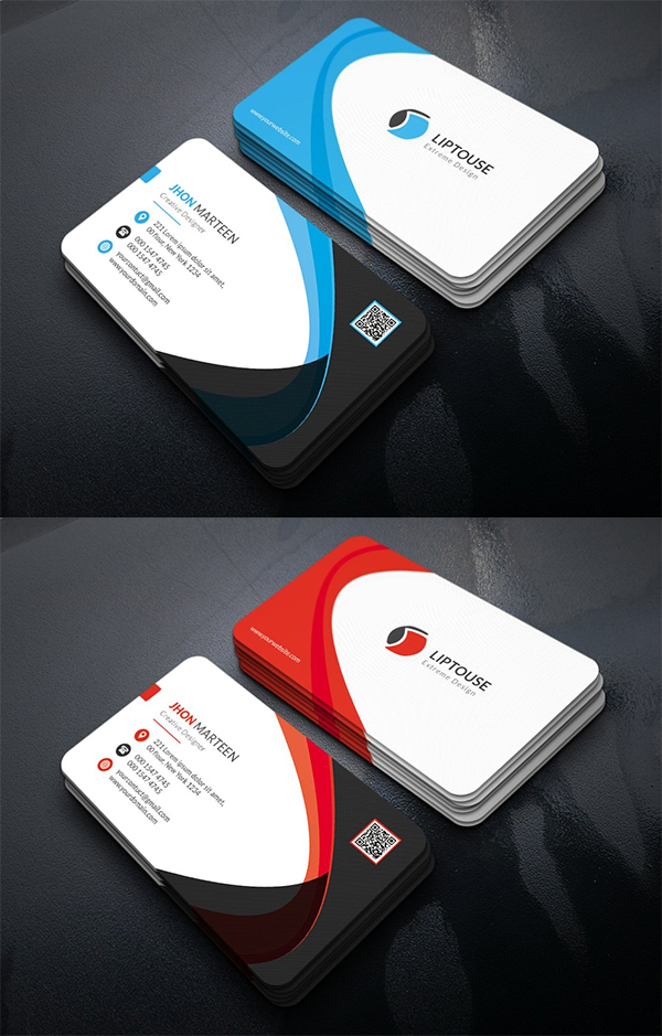 Elagant Business Card Template