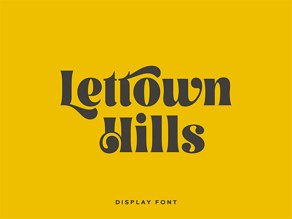 Lettown Free Font