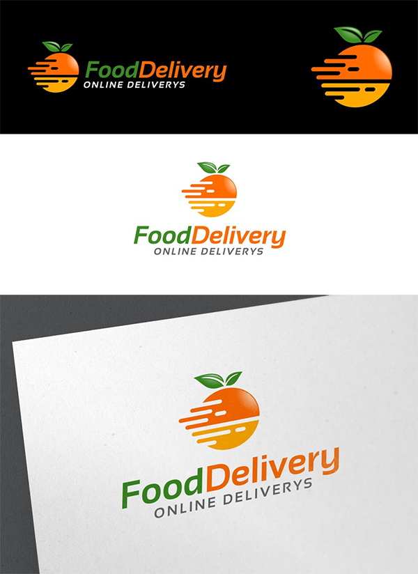 Food Delivery Logo Design