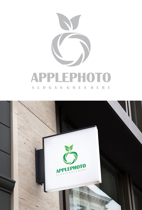 Apple Photorgaphy Logo Design