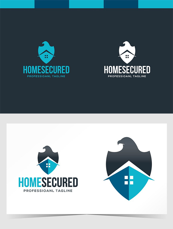 Home Secured Logo Design