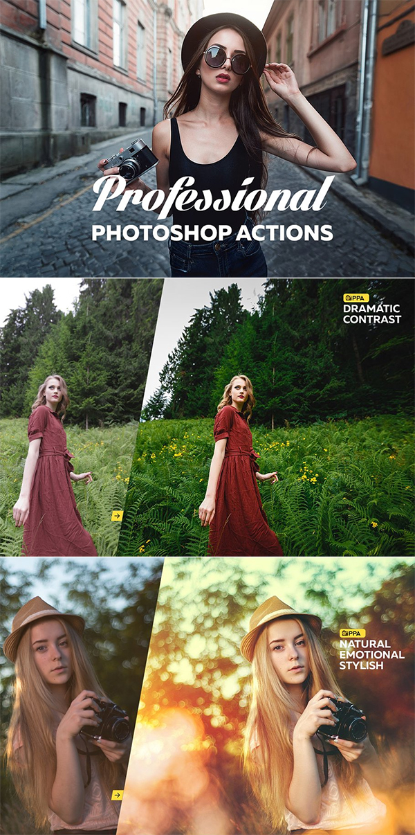 Professional Photoshop Actions