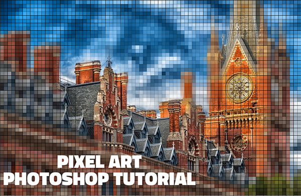Pixel Photo Effect In Photoshop With Mosaic Filter