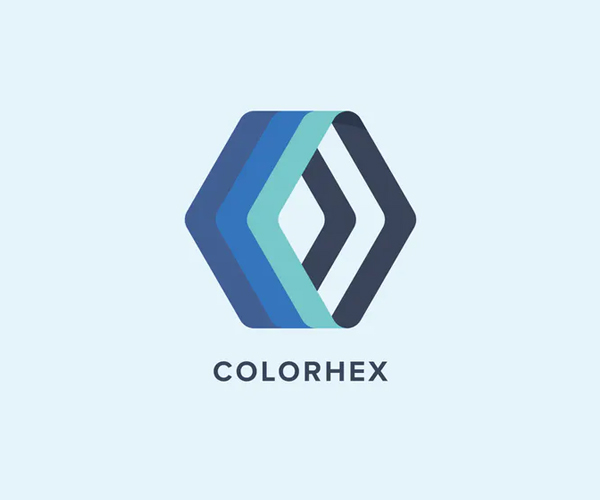 Color Hex Logo Template