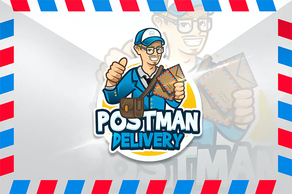 Postman Delivery Logo