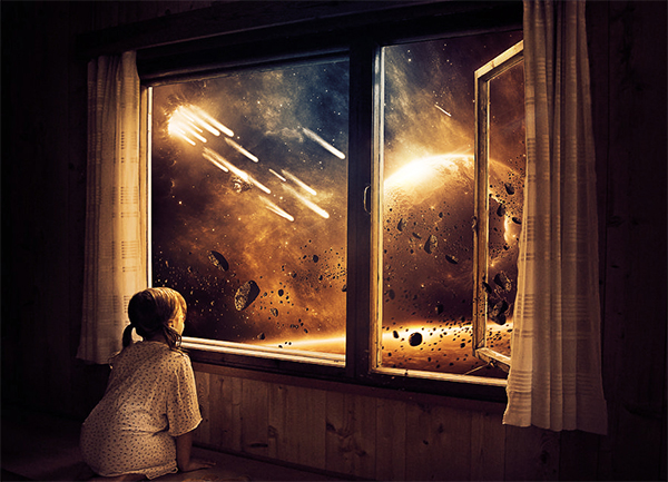Childhood End The Last Days On Earth Photoshop Tutorial
