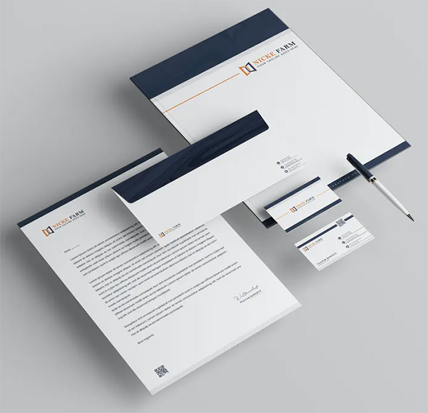 Creative Branding Identity & Stationery Pack