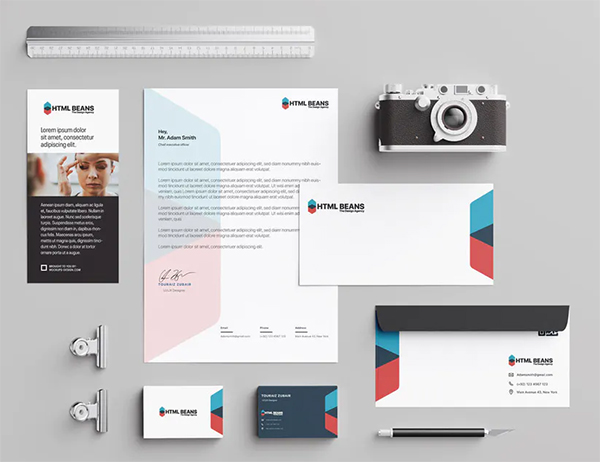Agency Brand Stationary