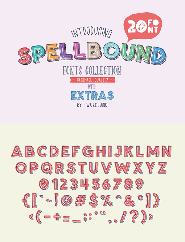Spellbound Families Font
