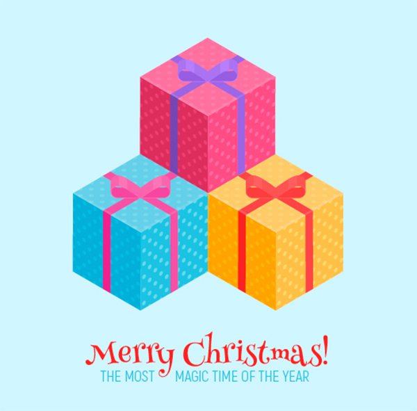 How to Create an Isometric Christmas Present in Adobe Illustrator