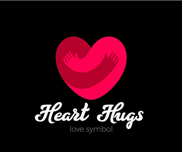 Heart Love Logo Design