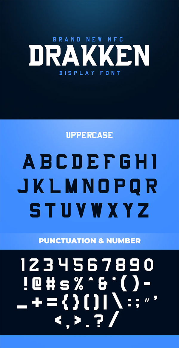 Awesome Display Font