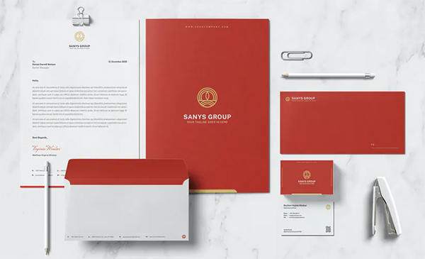 Sanys Group Stationary Template