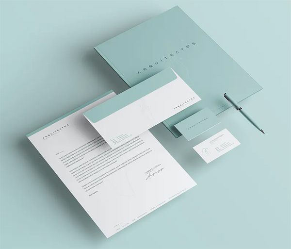 Minimal Identity & Stationery Template