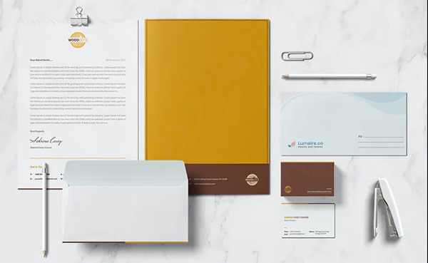 Woodcaote Stationary Template