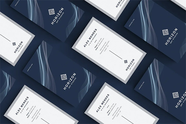 Attractive Perfect Business Card Template