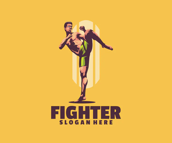Fighter Logo Template