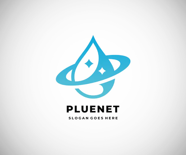 Cleaning Planet Logo Template