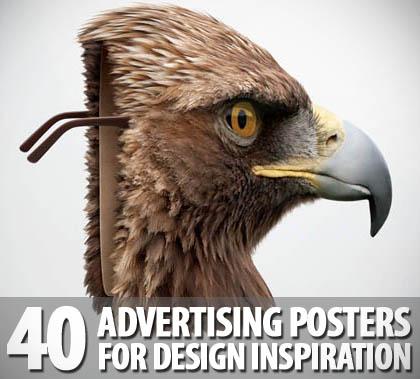 advertising posters design - print advetising