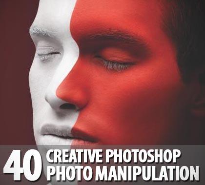 Creative photoshop photo manipulation