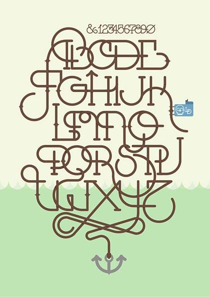 Fresh Bold Typography Design 1