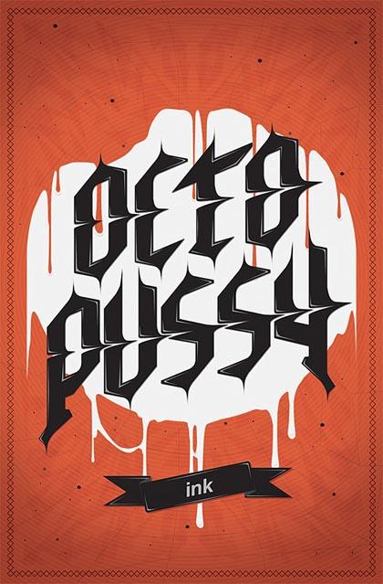 Fresh Bold Typography Design 11
