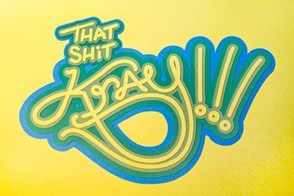 Fresh Bold Typography Design 18