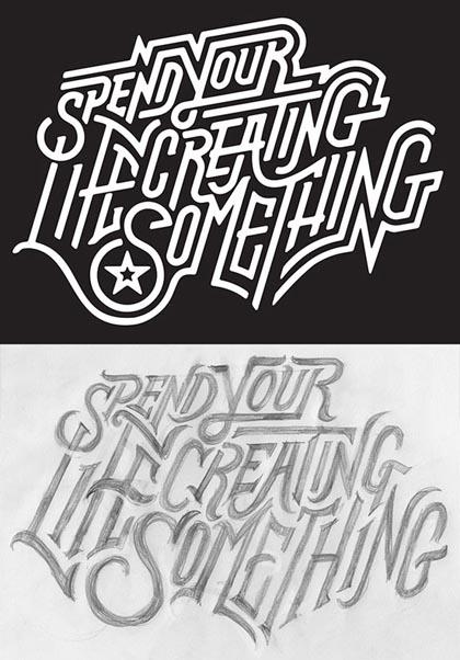 Fresh Bold Typography Design 4