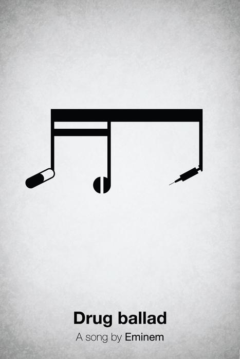 Minimal Pictogram Music Posters - 22