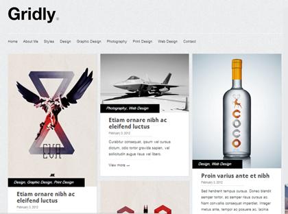 Gridly Responsive WordPress Themes - 14