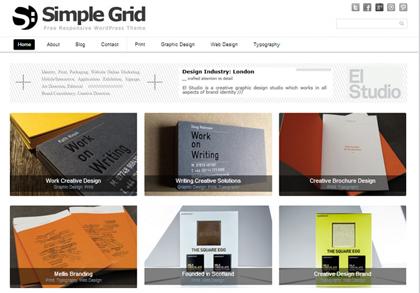 Simple Grid Responsive WordPress Themes - 15