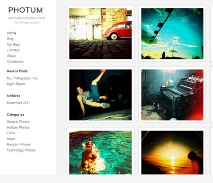 Photum Photography Responsive WordPress Themes - 17