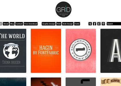 Grid Theme Responsive WordPress Themes - 18