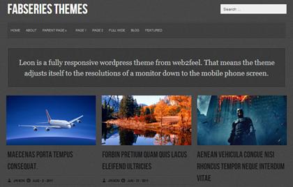 Leon Responsive WordPress Themes - 24