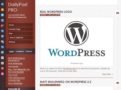 DailyPost Responsive WordPress Themes - 3