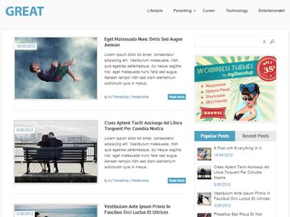 Great Responsive WordPress Themes - 5