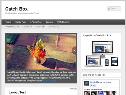 Catch Box Responsive WordPress Themes - 6