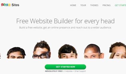 Free Website Builders 1