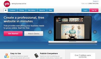 Free Website Builders 11