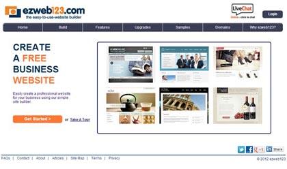 Free Website Builders 12