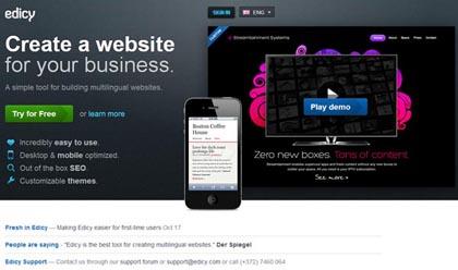 Free Website Builders 14