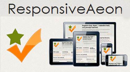 ResponsiveAeon: Elegant CSS3 Grid System Framework